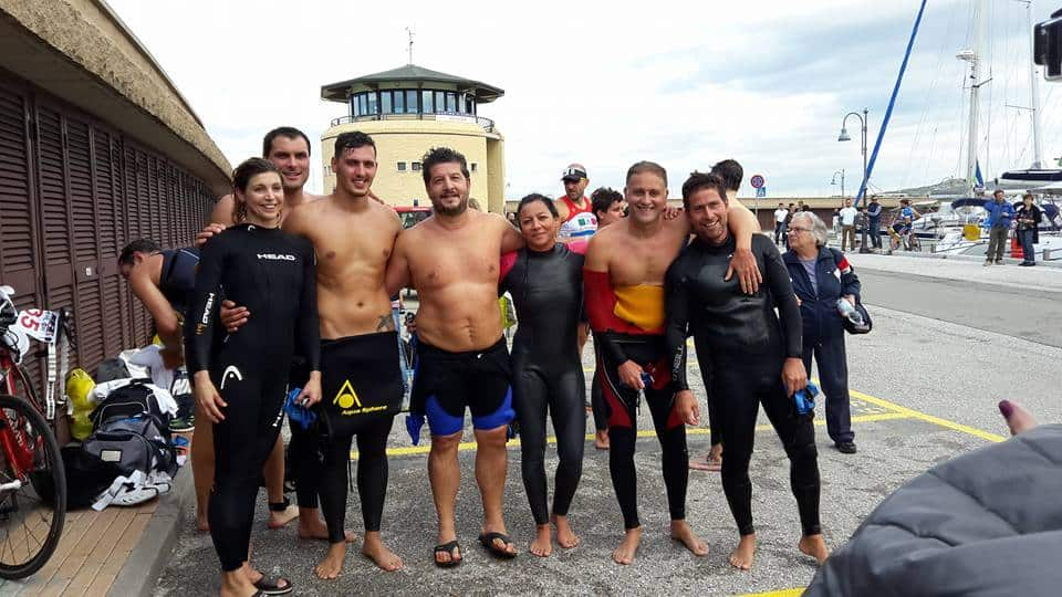 Halfcastman 2015, nuova avventura per il gruppo Master di Amatori Nuoto Follonica, con grandi soddisfazioni