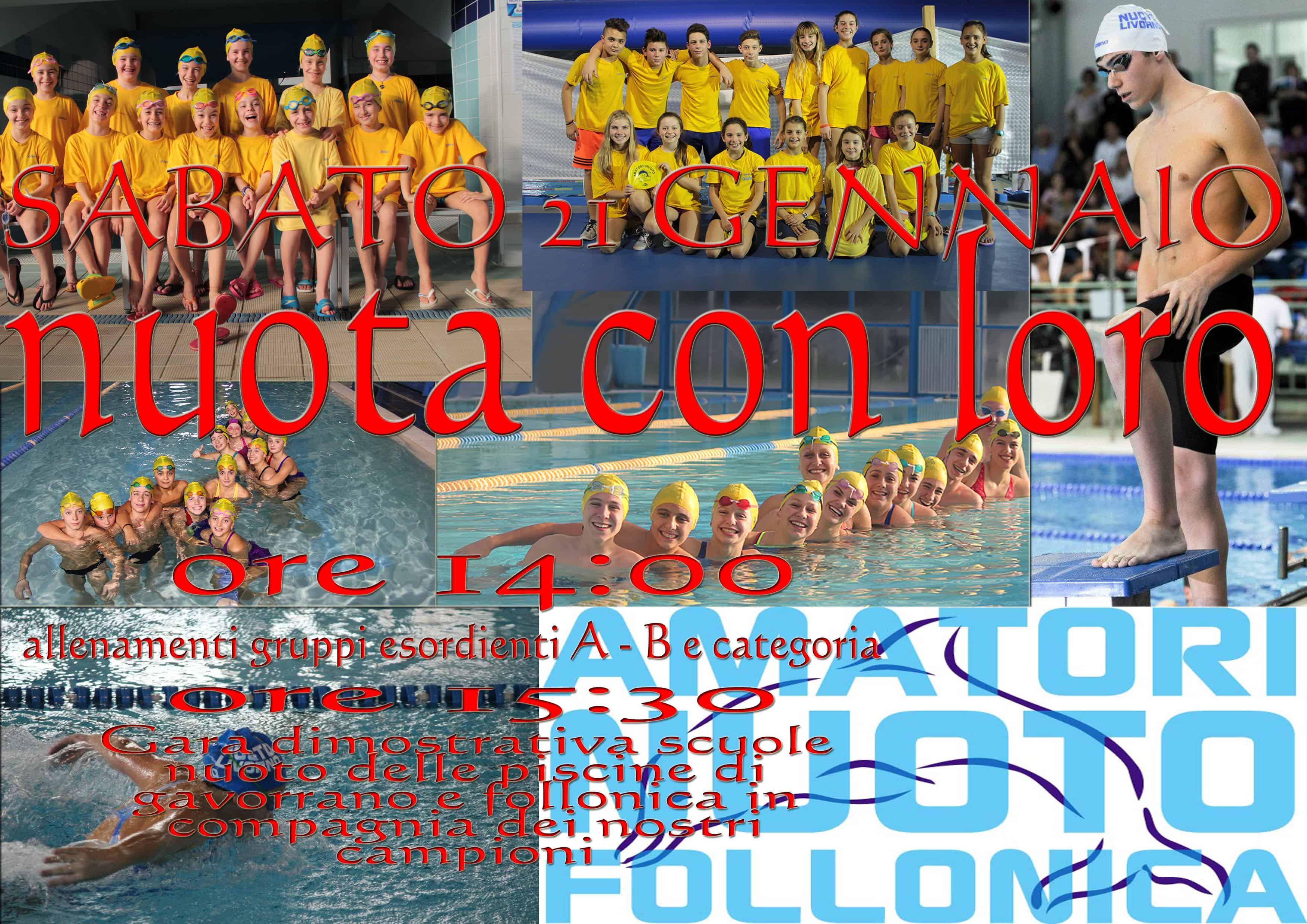 Porte aperte all'impianto natatorio di Gavorrano