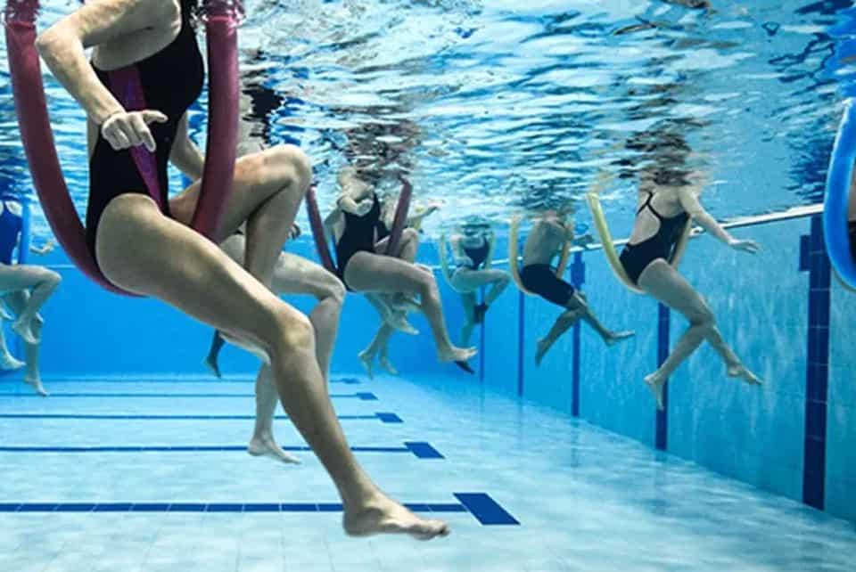Acquagym, quando i muscoli lavorano di più